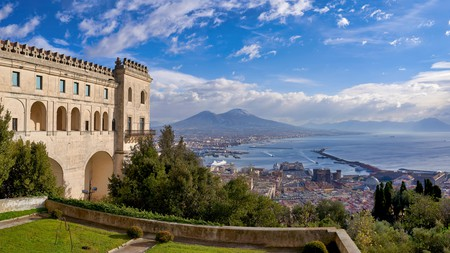 Visit Vomero for this incredible view over Naples from theCertosa di San Martino
