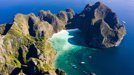Maya Bay is one of the most famous beaches in Thailand