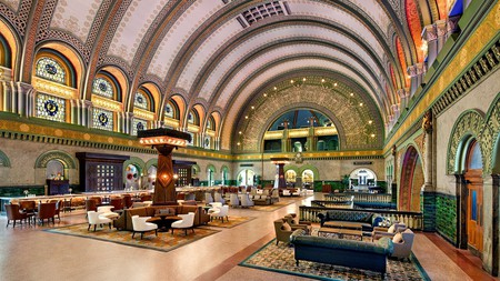 The historic charm of the St. Louis Union Station Hotel will make you want to stay a while