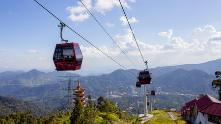 Hop on a cable car in Genting Highlands, Malaysia, for some spectacular views