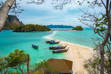 The many beautiful sandy stretches in the Krabi province of Thailand make it a go-to destination for beach lovers