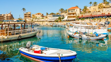 The ancient port in Byblos is nothing short of picturesque