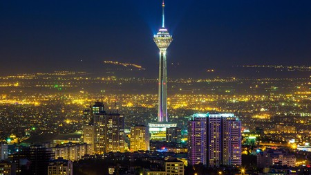 Tehran Tower is an iconic landmark and symbol of the city's national importance
