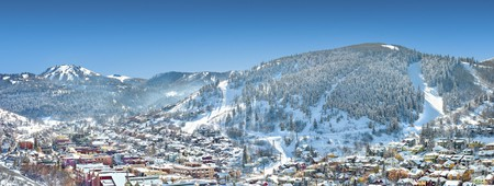Get a view of the slopes from your room at the Chateaux Deer Valley, one of Park City's best boutique hotels
