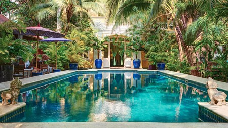 Relax poolside at the Pavilion in Phnom Penh