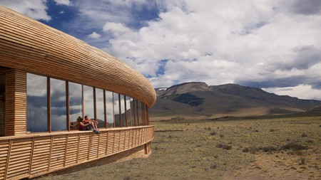 Tierra Patagonia cuts a stark contrast against the surrounding desert