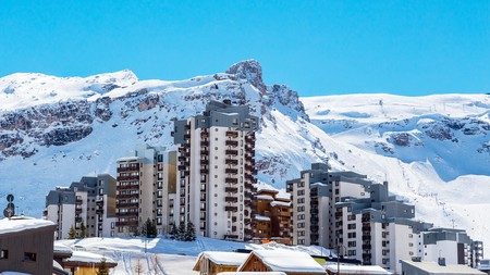 Tignes is one of the most internationally popular ski resorts in France