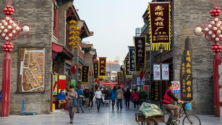 Tianjin retains a well-preserved historic centre
