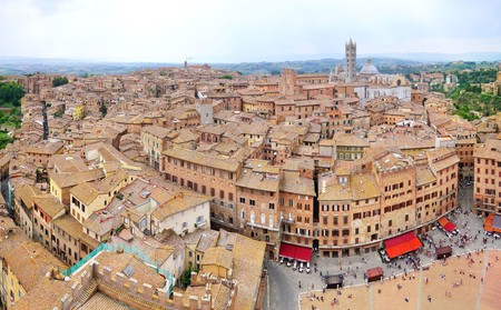 The Piazza del Campo remains the focal point of Siena