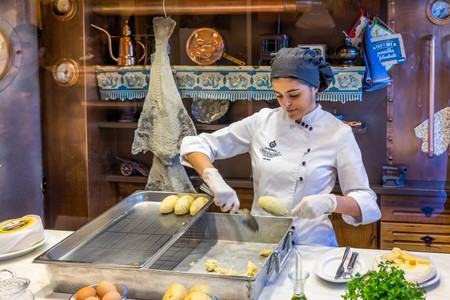 Situated between the ocean and mountains, Porto specialises in many surf and turf dishes