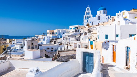 Santorini provides the beautiful views you'd expect, while villages such as Pyrgos deliver a community feel