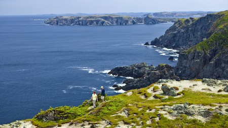 There are many hiking trails in Twillingate where you're in full view of the Atlantic