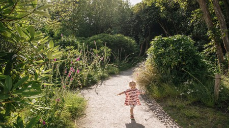 Your little ones will love roaming through the Lost Gardens of Heligan