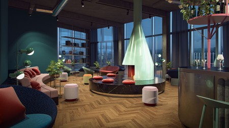 The youthful stylishness of 25hours Hotel the Circle is sure to lift even the most jaded of traveller's spirits