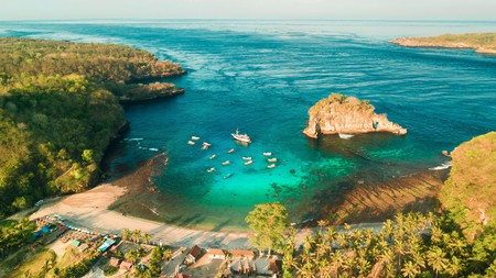 With crystalline waters, Bali is a must-visit if you're a fan of diving and snorkelling
