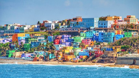 San Juan, the capital of Puerto Rico, is a riot of color and home to plenty of excellent restaurants