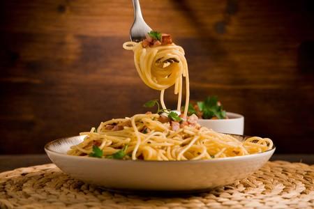 Pasta alla carbonara; a Roman classic that has captured the global imagination