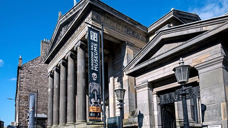 The Surgeons' Hall Museums in Edinburgh are dedicated to morbidly fascinating specimens