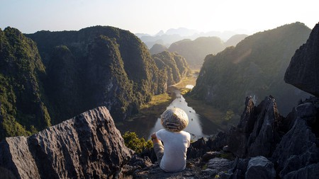Sunset at the Mua Caves in Tam Coc is an unforgettable site