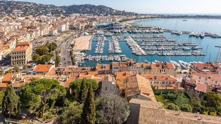 Cannes is a glitzy destination along the Côte d'Azur in France
