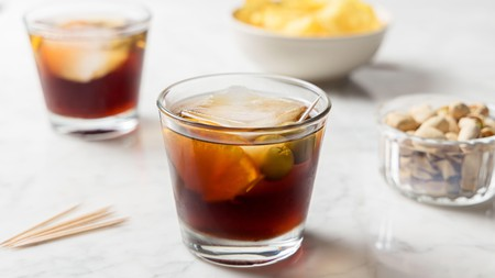 Enjoy an appetizer with your vermouth aperitivo