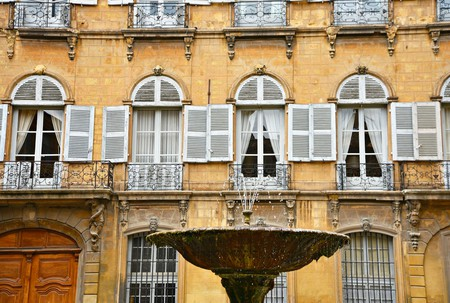 Aix-en-Provence is known for its many decorative fountains