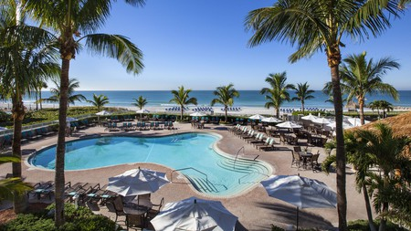 Lido Beach Resort is one of the perfect beachside retreats for an easygoing vacation in Sarasota