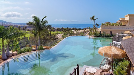 Chill out by one of these spectacular hotel pools on a trip to Tenerife