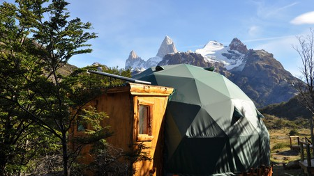 You can't get any closer to nature than Patagonia Eco Domes
