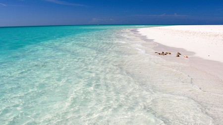 Fort George is one of many world-class beaches in Turks and Caicos