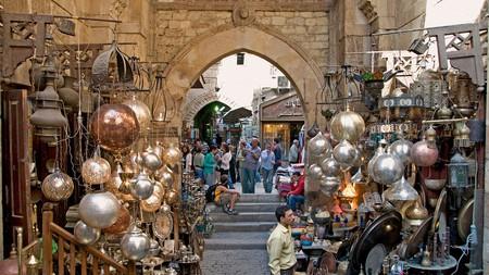 The historic Khan el Khalili market dates back to 1382