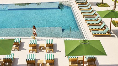 This sprawling pool is just one of many luxurious facilities at Hotel Camiral