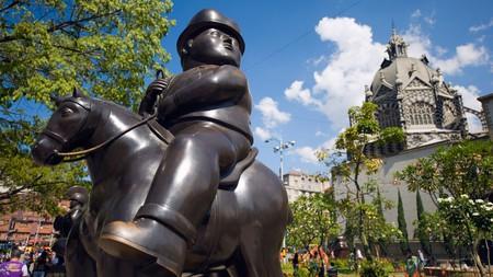 Sculptures by Fernando Botero, Plazoleta de las Esculturas, Medellín