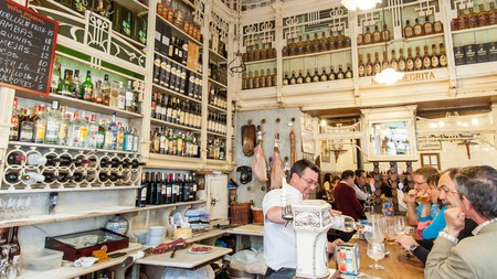 El Rinconcillo attracts locals for its simple tapas made from high-quality local ingredients