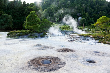 Stay near the natural hot springs in Furnas, São Miguel, at one of the best hotels in the Azores