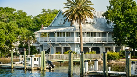 The historic Cumberland Island waterfront is only a 45-minute ferry ride from St Marys
