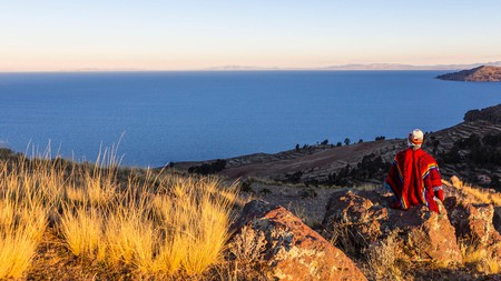 Take some time to revel in these awe-inspiring views of the Puno province of Peru at sunset