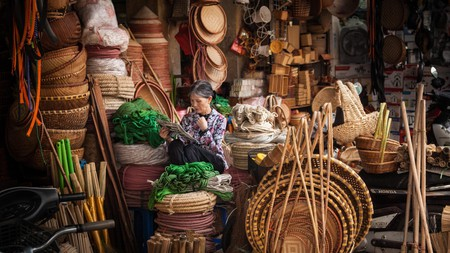 Exploring Hanoi's food markets is a must on your trip to Vietnam's capital