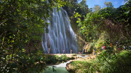 The Dominican Republic is home to some truly spectacular waterfalls