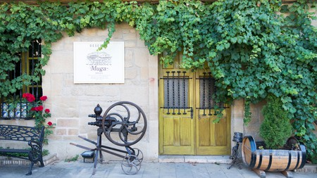 The Muga winery is located in Haro, the capital of the Rioja winemaking region