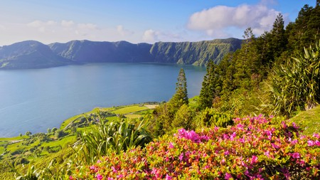 The jaw-dropping natural landscapes wow visitors to the Azores