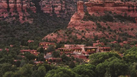 The accommodation, spa and activities are as stunning as the location at Enchantment Resort, Sedona