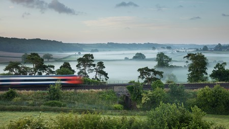 Reduce your carbon footprint on your next adventure by taking the train