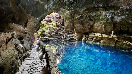 The wondrous Jameos del Agua, with its lava caves, sculptures and more, is just one reason to visit the island of Lanzarote