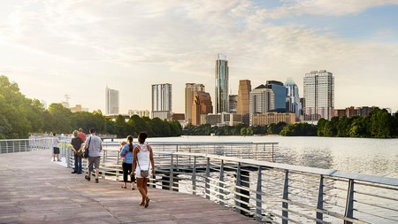 A highlight of any Texan tour is Austin, the live music capital of the world