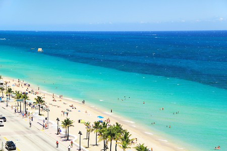 Fort Lauderdale boasts miles of glorious beaches