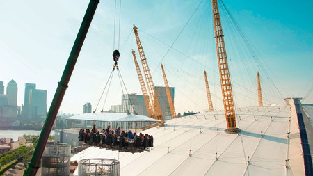 Enjoy some drinks at the O2 while sitting high over the London skyline this summer