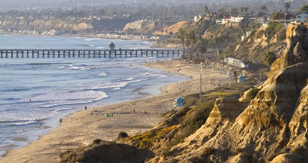 San Clemente is a classic California coastal town with great surfing