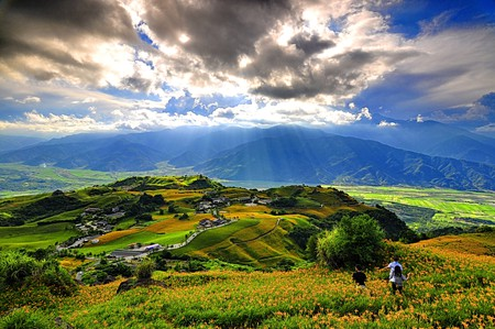 Taiwan's countryside draws in visitors with its scenic views and friendly locals