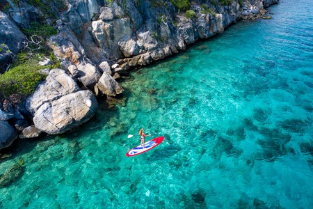 The US Virgin Islands and the surrounding crystalline waters are perfect for outdoor enthusiasts